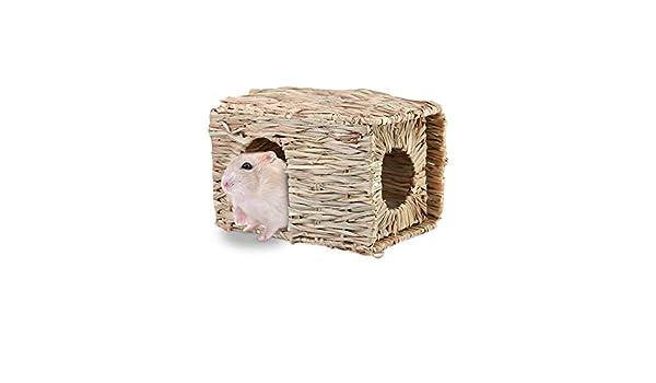 Jaula de roedores Plegable de Tejido Natural para hámsters ...