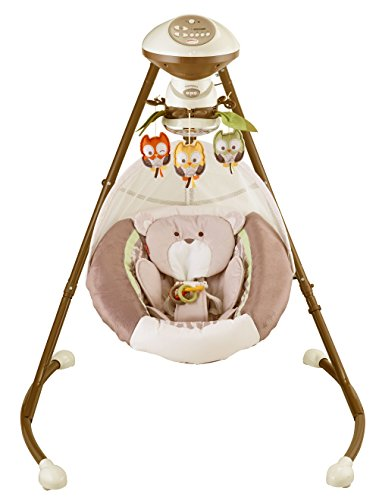 Fisher-Price My Little Snugabear Cradle'N Swing