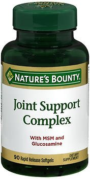 Nature's Bounty Joint Support Complex Softgels - 90 ct, Pack of 6 by Nature's Bounty