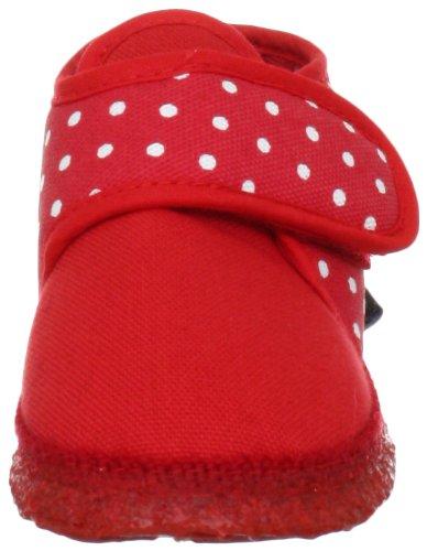 Nanga Stella 06-0091 - Zapatos para bebé para niña Rojo 020