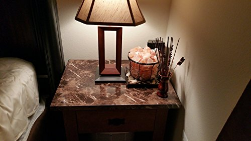 Marble Look Film Brown High Glossy Granite Effect Vinyl Self Adhesive Peel-Stick Brown Counter Top (2' X 6.56 ft) by Very Berry Sticker (Image #6)