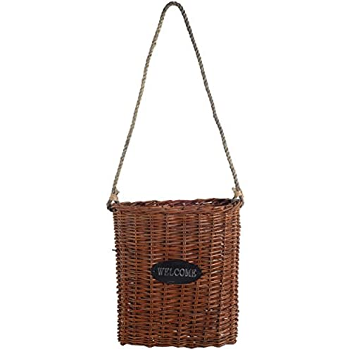 Au0026B Home Wicker Basket Large  sc 1 st  Amazon.com & Front Door Basket: Amazon.com