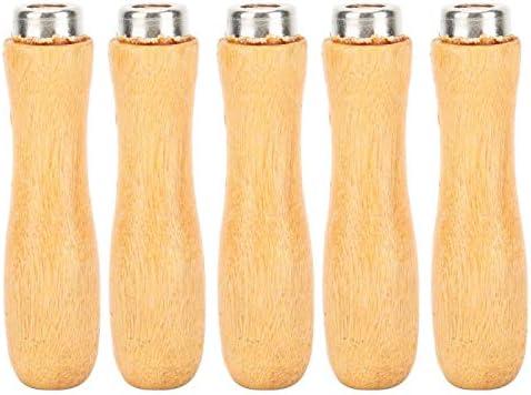 File Handle 5Pcs hoge kwaliteit hout materiaalSieraden ToolPraktische accessoires voor bestand