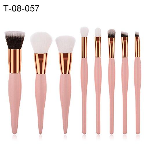 angel3292 Clearance Deals 2018 Foundation Concealer Powder Eyeshadow Face Makeup Brushes Set