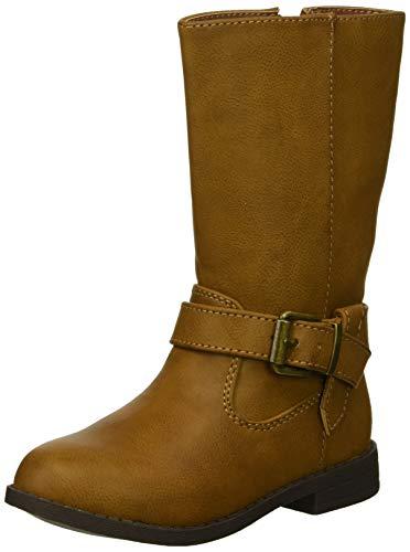 Saddle Kids Boots - NINA Girls' Galaxy Fashion Boot, Saddle, 5 Medium US Big Kid