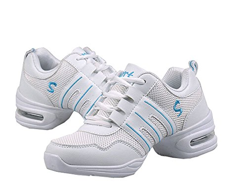 Dance White shoes size sneakers for woman 5 Jazz 5 women 6 Shoes 2 salsa rrXqOdx