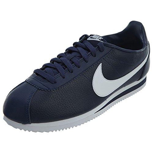 Classic Chaussures Leather Nike Cortez Running Bleu Homme De Entrainement 6qwRAwdt