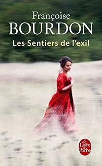 Les sentiers de l'exil par Bourdon
