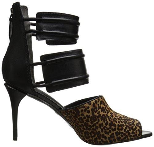 Kenneth Cole New York Womens Eføy Kjole Pumpe Naturlig Leopard