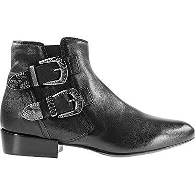 new style c1e8b 10081 Donna Carolina Damen 34743011 Stiefeletten schwarz 35 EU ...