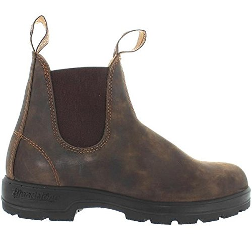 Blundstone 585 - Rustic Brown Leather Pull-On Gore Boot - Size: 9