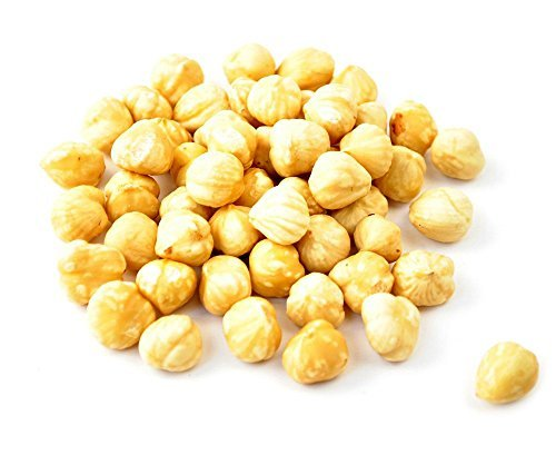NUTS U.S. - Roasted, Unsalted, Blanched Turkish Hazelnuts (22 LB)