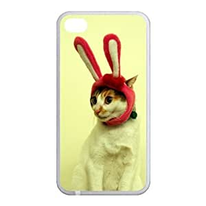 Custom Cat Back Case for iphone4,4S JN4S-106