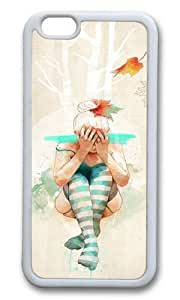 Apple Iphone 6 Case,WENJORS Awesome Autumn Soft Case Protective Shell Cell Phone Cover For Apple Iphone 6 (4.7 Inch) - TPU White