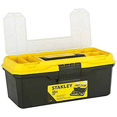 STANLEY 1-71-948 13'' Organised Maestro Tool Box with Clear top lid 10