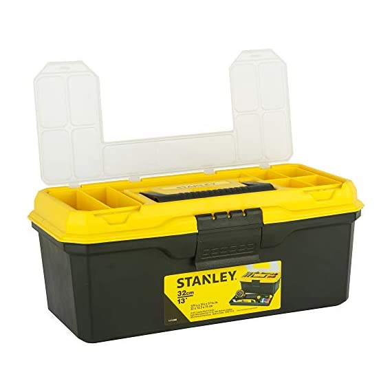 STANLEY 1-71-948 13'' Organised Maestro Tool Box with Clear top lid 4