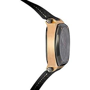 "BUTI 18K Solid Rose Gold ""Magnum Sport"" Automatic Chronograph w/Titanium Bezel"