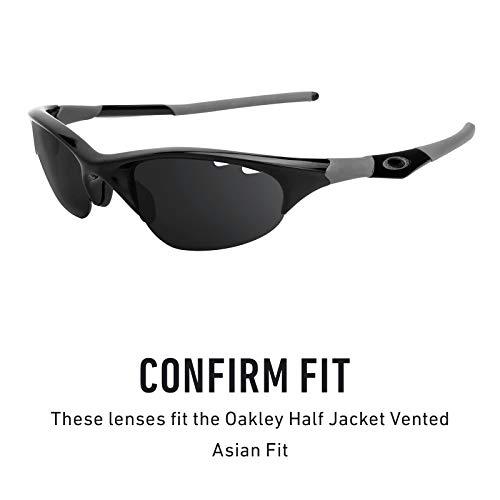 Jacket Vented Múltiples Repuesto Polarizados Fit Elite Oscuro Half Marrón Asian Lentes Oakley Para Opciones — De xqUPBwW4Xg