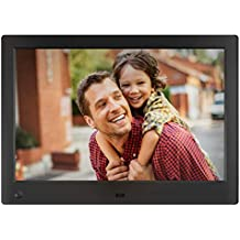 NIX Advance Digital Photo Frame 10 Inch X10H. Electronic Photo Frame USB SD/SDHC. Digital Picture Frame with Motion Sensor. Remote Control and 8GB USB Stick Included