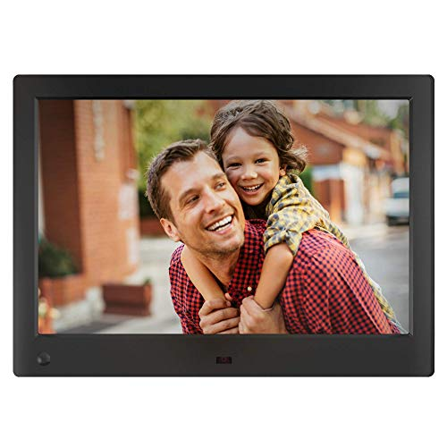 NIX Advance Digital Photo Frame 10 Inch. Easy Plug-in USB and SD/SDHC Ports, Motion Sensor, Remote Control and 8GB USB Stick Included
