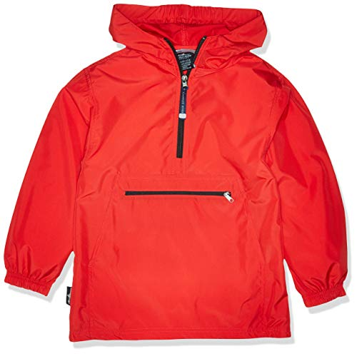 (Charles River Apparel Unisex Youth Pack- N- Go Pullover, Large Red)