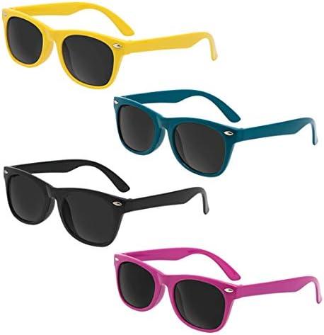 Assortment 12 Pack Kids Iconic Sunglasses