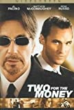 Two For The Money poster thumbnail
