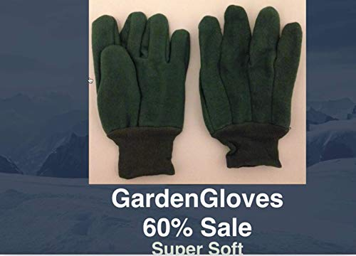 - Southern Gloves U2199 Double Woven Chore Gloves, Heavy Weight, Green Chore/Knit Wrist, Large (Pack of 12)