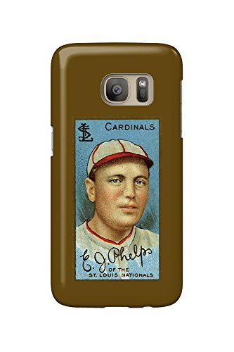 St. Louis Cardinals - Edward J. Phelps - Baseball Card (Galaxy S7 Cell Phone Case, Slim Barely There) (Cards Phelps)