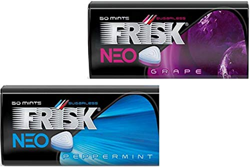 FRISK NEO, mint tablets, PEPPERMINT,GRAPE,No.a341