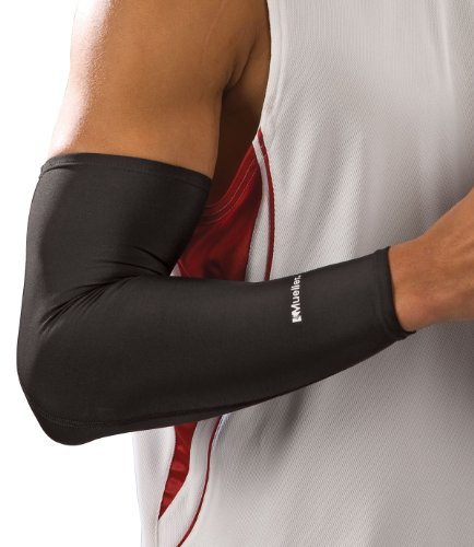 Mueller Shooter Sleeve, Black, One Size, Health Care Stuffs