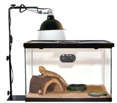 Zoo Med Reptile Lamp Stand Economy Size 10 20 Gallon Ebay