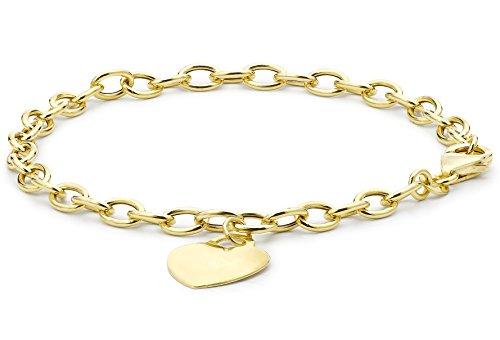 Carissima Gold Pulsera de mujer con oro amarillo de 9 quilates (375/1000) Carissima Gold Pulsera de mujer con oro amarillo de 9 quilates (375/1000) Carissima Gold Pulsera de mujer con oro amarillo de 9 quilates (375/1000)