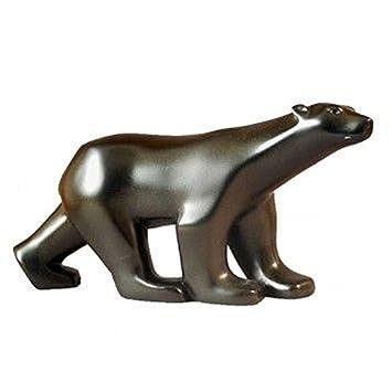 461ceb5be95 PARASTONE Ours Blanc de Pompon - Patine bronze  Amazon.fr  Cuisine ...