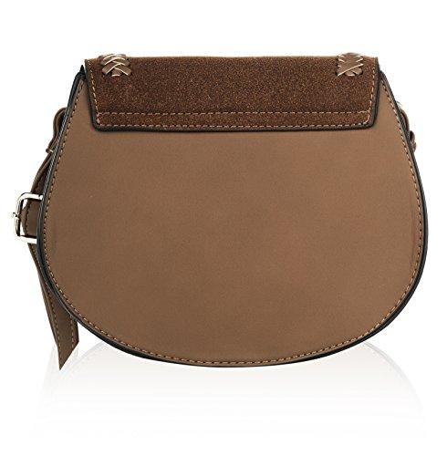 MKF Farrow K Collection Bag Simply by Elegant Brown Mia Saddle qHZW6qB