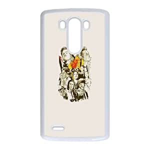 Tarantino Characters LG G3 Cell Phone Case White Exquisite gift (SA_702150)