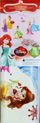 Disney Character Christmas Holiday Peel & Stick Wall Decorat