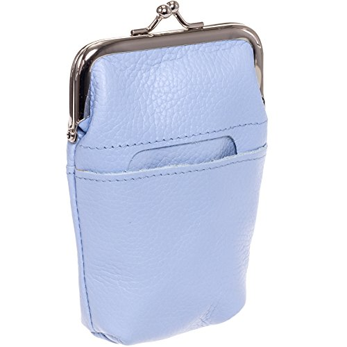 Buxton Womens Leather Framed Cigarette Case Wallet