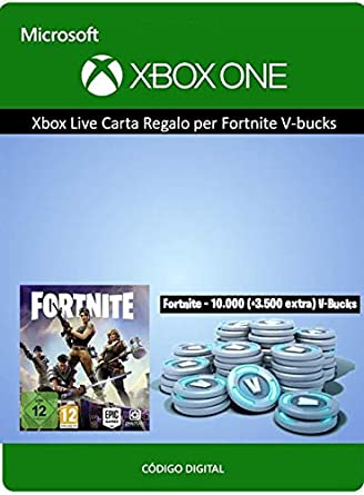 Tarjeta regalo de Xbox para Fortnite 13500 V-Bucks | Xbox One ...