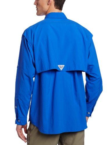 Columbia Sportswear hombres de Bahama II de manga larga Vivid Blue