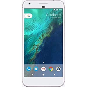 Google Pixel GSM Unlocked (Renewed) (128GB, Silver)