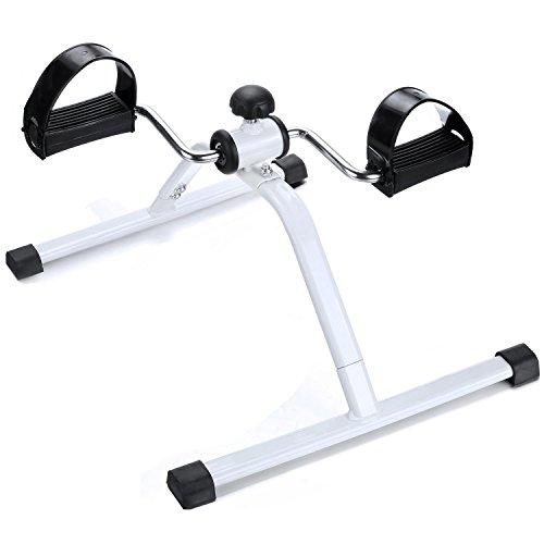 neudas Foot Pedal Exerciser Mini Exercise Bike Under Desk Bike Legs Arms by neudas
