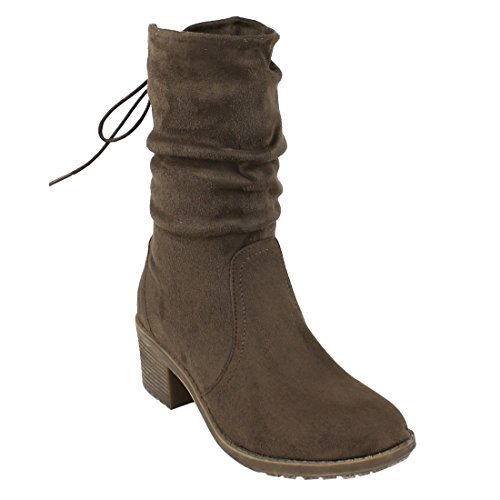 Side Lace Boot - 6