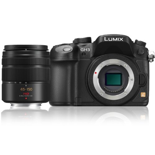 Panasonic-Lumix-DMC-GH3K-1605-MP-Digital-Single-Lens-Mirrorless-Camera-with-Panasonic-H-FS-45-150mm-Lumix-G-Series-Lens-Black