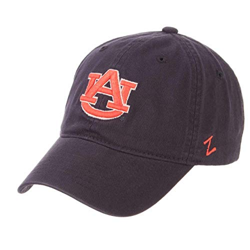 NCAA Auburn Tigers Men's Scholarship Relaxed Hat, Adjustable Size, Team Color