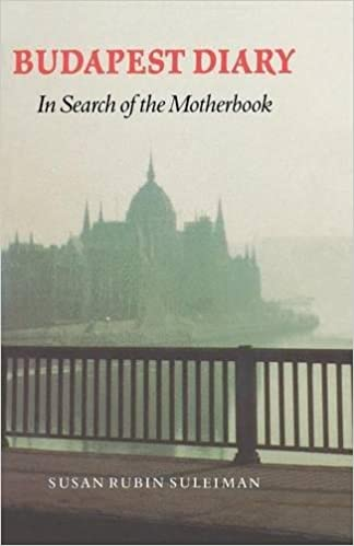 Amazon. Com: budapest diary: in search of the motherbook (texts and.
