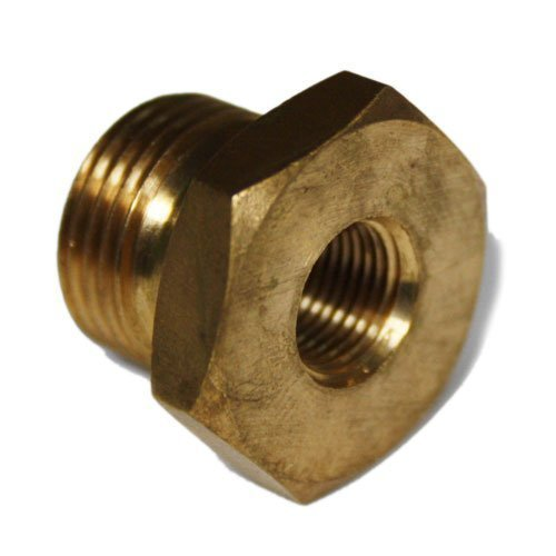 "1x Bush 3/8"" BSP Male X 1/8"" BSP Female – For Petrol Fuel Pipe Misc"