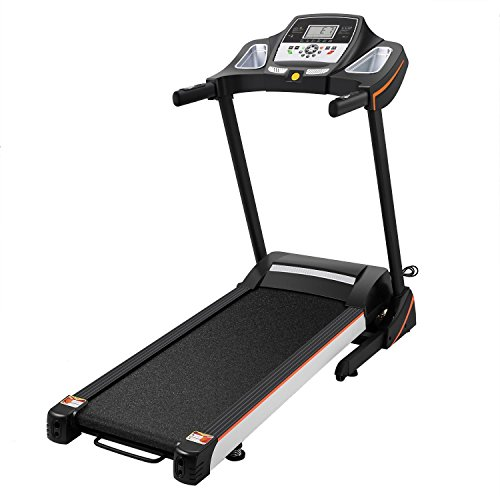 Bulges Fitness Folding Electric Treadmill Exercise Equipment Walking Running Machine Gym Home Office(3.0 HP,US Stock) by Bulges