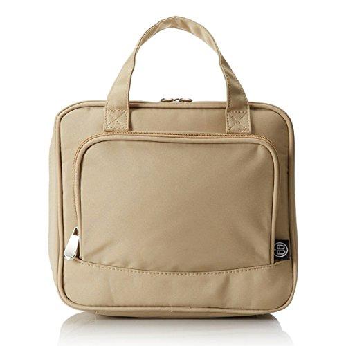 Bag Impact Chalk - Beyond A Bag Cosmetic Caddy Bag Waterproof Travel Organizer Case, Sesame, One Size