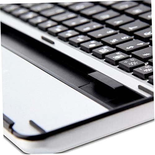 Universal Black /& White Aluminum Alloy Lightweight Quiet Keystrokes Waterproof /& Dustproof Wireless Keyboard for iPad 234